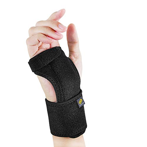 Bracoo Wrist Splint, Breathable Hand Stabilizer Brace for Carpel Tunnel Syndrome, Tendonitis, and...