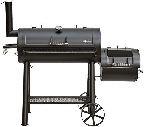 Fuego EL Holzkohlegrill Buffalo Holzkohlegrill, Räuchergrill, Smoker, Grill, BBQ, Barbecue, AY 568
