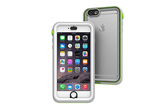 Waterproof case for iPhone 6 Plus, Shock Proof, Drop Proof by Catalyst for iPhone 6+ with High Touch Sensitivity ID (Green Pop)