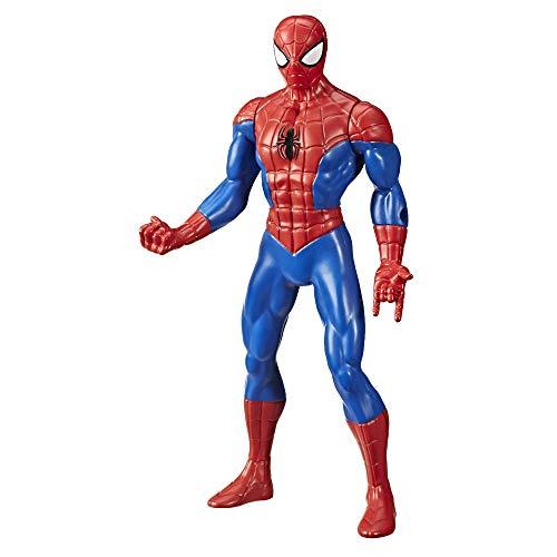 Hasbro Figura Acción Classic Spider-Man 25cm Original E6358 Marvel