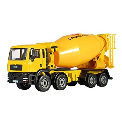 Modelo de automóvil Modelo de vehículo de construcción 1:50 Aleación mezcladora camión cemento cemento caracol auto modelo de niño juguete de niño simulación de metal ornamentos colección de regalo