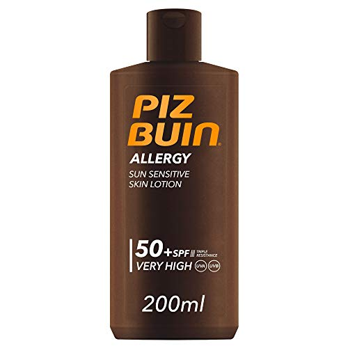 Piz Buin Allergy Sensitive Skin Sun Lotion LSF 50+, 200 ml