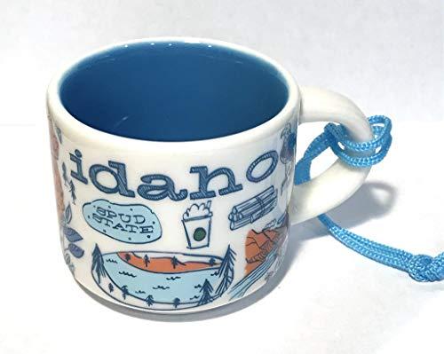 Starbucks Idaho Been There Collection Kaffeetasse aus Keramik, Demitasse Ornament, 57 ml