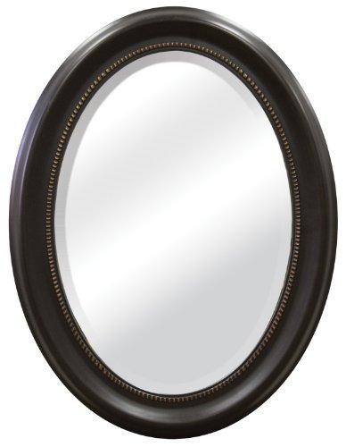 MCS Beaded Oval Wall Mirror, 22.5 x 29.5 Inch, -