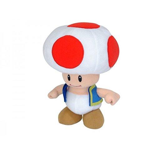 peluche super mario bros de toad 20 cm