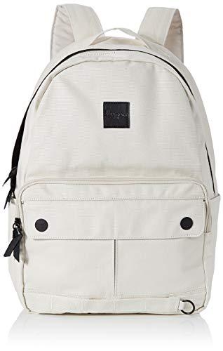 Superdry Damen Elsworth Backpack Rucksack, Weiß (Soft White), 35x20x45 cm