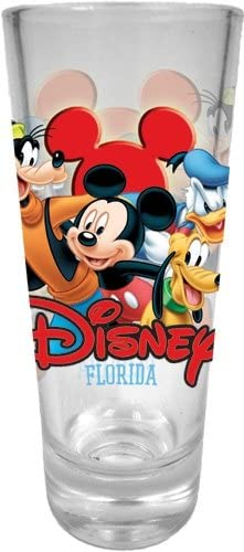 Best Buds Mickey Goofy Donald Shot Glass Florida Pluto Free Shipping New Collector New products, world's highest quality popular!