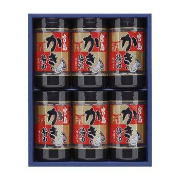 やま磯 味付けのり 海苔ギフト 宮島かき醤油のり詰合せ 宮島かき醤油のり8切32枚×6本セット