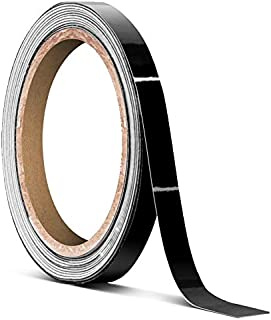VViViD Black Gloss Air-Release Adhesive Vinyl Tape Roll (1/4 Inch x 30ft)