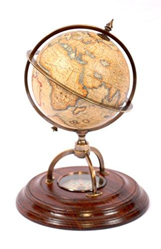 "Authentic Models / GL019 / Globus mit Kompass \""Mercator\"""