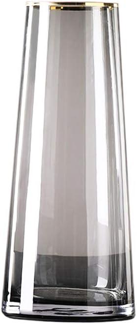 CMJLBM Orchids Artificial Flowers 日本全国 送料無料 Glass 時間指定不可 Vase Luxury Transparent