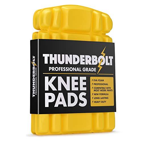 Thunderbolt Knieschoner für Arbeitseinlagen für Hosen Arbeitskleidung mit dicker EVA-Schaumpolsterung