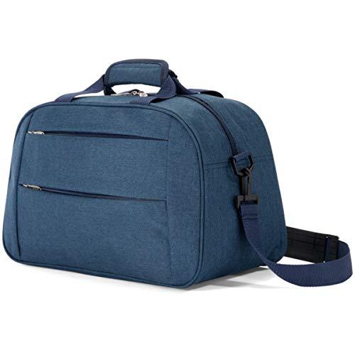 Bolso Viaje BENZI BZ5496, Mediano 40 cm. Azul