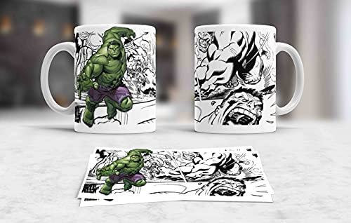 Taza Marvel Hulk
