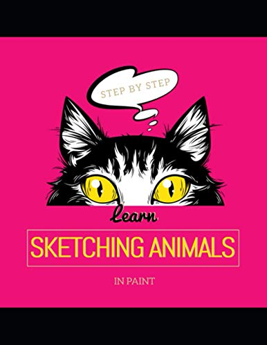 Learn Sketching Animals In Paint Step By Step
