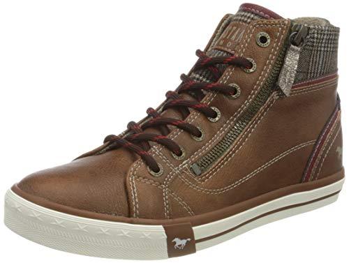MUSTANG Damen 1146-528 Sneaker, 307 Cognac, 40 EU