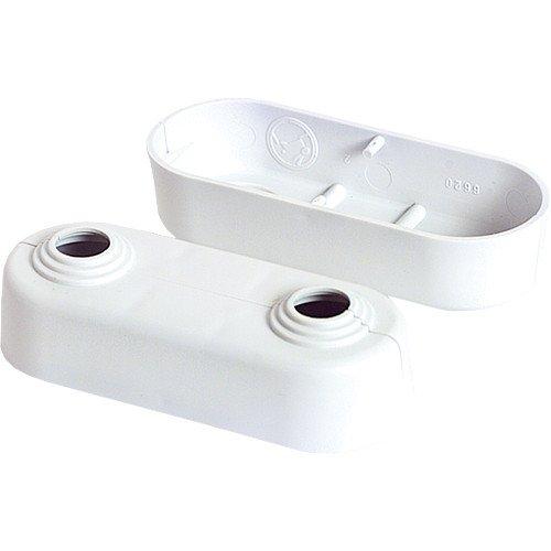 Heizkörper Klapprosetten, Doppelrosetten, weiß, 10 – 18 mm