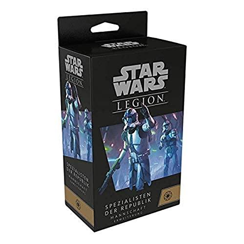 Asmodee Star Wars : Legion - Spécialistes de la République, Extension Tabletop, Allemand