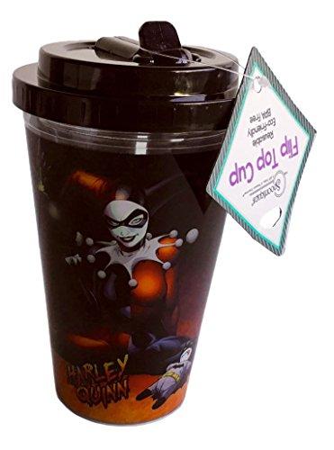 415eGBjZ27L Harley Quinn Travel Mugs