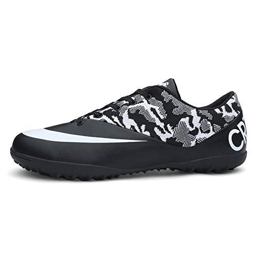 ZLYZS Botas De Fútbol Zapatos De Fútbol Unisex Zapatos De Entrenamiento para Adolescentes Zapatos De Fútbol para Exteriores Botines De Fútbol para Niños,34