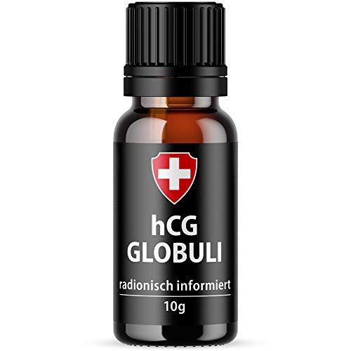 HCG C30 Globuli für Stoffwechselkur (hCG Diät) in Potenz C30 von Active Swiss | 100% hormonfrei | Höchste Qualität - Stoffwechseldiät