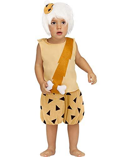 Funidelia | Disfraz de Bam-Bam - Los Picapiedra Oficial para bebé Talla 1-2 años ▶ The Flintstones, Dibujos Animados, Los Picapiedra, Cavernícolas