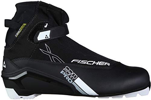 Fischer XC Comfort Pro XC Ski Boots Mens Sz 46 Black/Silver