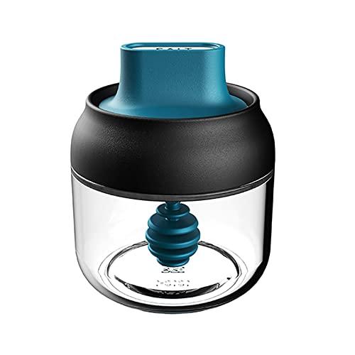 KUCOCOSNEH Contenedor de aceite para cocina Botella de aceite latas dispensador de vidrio transparente miel 280 ml color al azar tapa