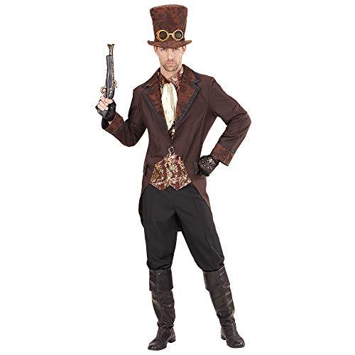 Widmann - kostuum Steampunk Large bruin/zwart