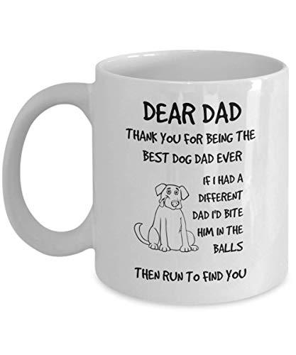 Funny Dad Dog Mug Coffee Cup Fur Family
