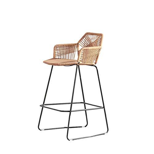 N/Z Wohngeräte Barhöhe Barhocker Einfacher und moderner Home Front Bar Chair