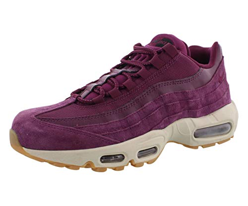 Nike Air Max 95 SE Mens Running Trainers AJ2018 Sneakers Shoes (UK 5.5 US 6 EU 38.5, Bordeaux Desert Sand 600)