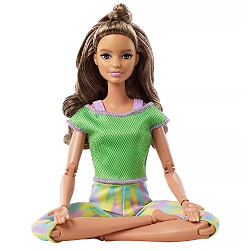 Boneca Barbie Feita para Mexer Morena - To Move Articulada - 2021