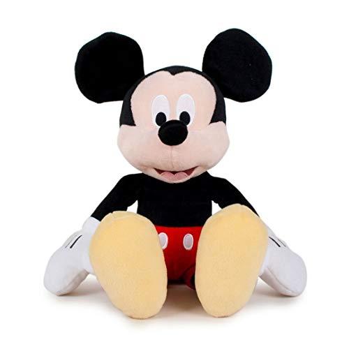 Play by Play Peluche Topolino Supersoft 30 cm in Piedi / 20 cm Seduto Mickey Mouse Disney