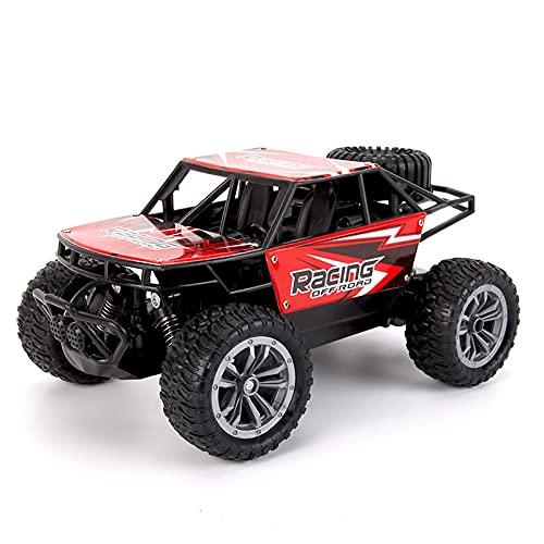 Ksovvoo Aleación de cuatro ruedas trucia de truco CAR1: 18 Velocidad de alta velocidad con control remoto de aleación de automóviles Carga de aleación de juguetes de gran tamaño Drift para niños Racin