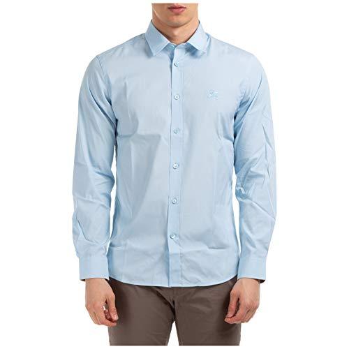 BURBERRY Herren Hemd Pale Blue XXL