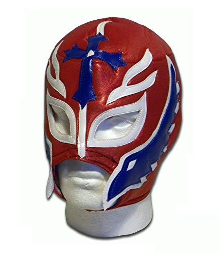 Son von the Devil erwachsene luchador mexikaner wrestling maske rot