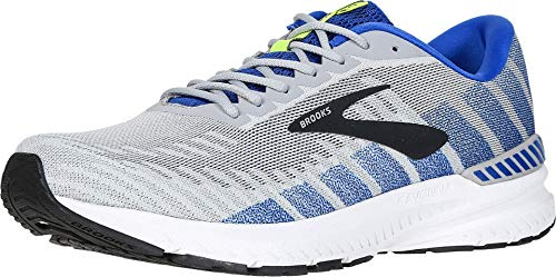 Brooks Men's Ravenna 10, Grey/Blue, 11.5 D