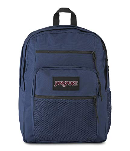 Jansport Big Campus Backpack - Lightweight 15-inch Laptop Bag, Navy