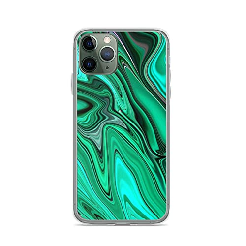 Green Valley Liquid Marble Mint Green Pattern Anti-Scratch Protective Cajas del Teléfono iPhone 12/11 Pro MAX 12 Mini SE X/XS MAX XR 8 7 6 6s Plus Funda