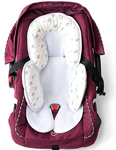 Auto-Sitzverkleinerer Antiallergikum, Kinderwagen Reduzierstück, Universal für alles, Kinderbett, Kinderwagen, Babyautositz, maximale Sicherheit