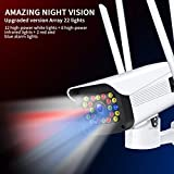 Gerioie Surveillance Camera, Intercom Motion Detection WiFi Security Camera, for Security Monitoring System Home Phone(U.S. regulations)