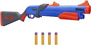 Nerf Fortnite Pump SG Blaster - Pump Action Mega Dart Blasting - Breech Load - 4 Official Nerf Mega Darts - For Youth, Tee...