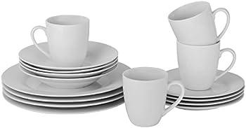 16-Piece 10 Strawberry Street Simply Round Dinnerware Set