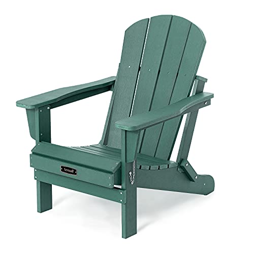 Folding Adirondack Chair Patio Chairs Outdoor Chairs Painted Adirondack Chair Weather Resistant for...