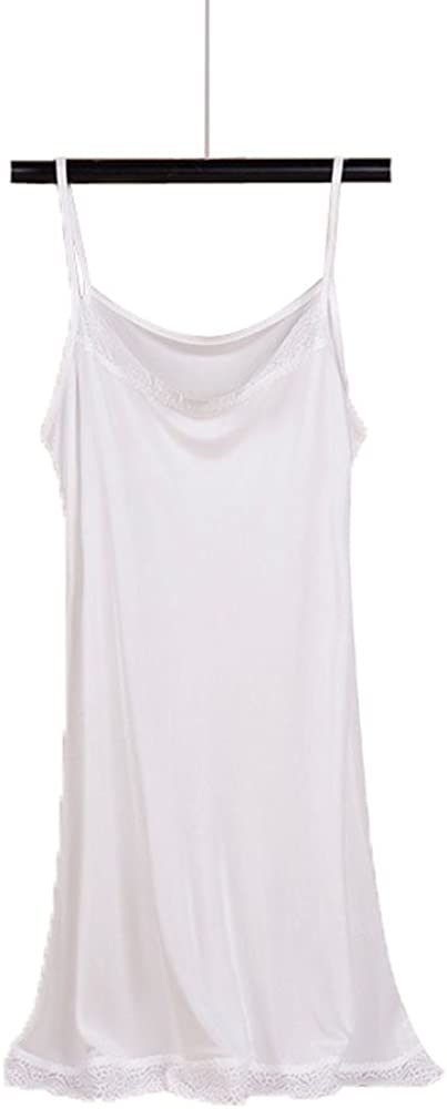 wholesale Hoffen Women's 100% Mulberry Silk Smooth Full Night Lace Nippon regular agency Dr Slip