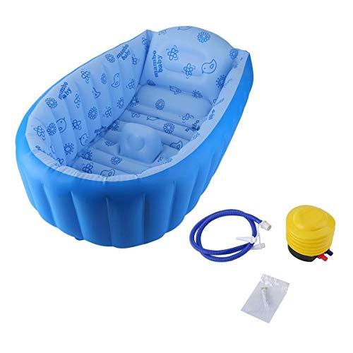 WXCymhy Bañera Hinchable Cuadrada de Engrosamiento Piscina for niños Piscina de bañera...