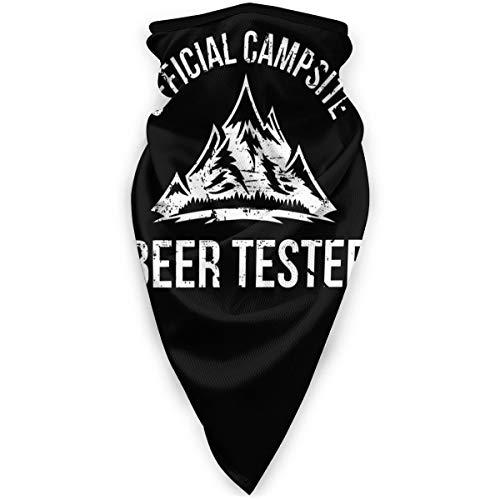 Campsite Beer Tester Sturmhaube, Kopfbedeckung, Bandana, Halstuch