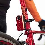 【32G MicroSDカード付き】自転車用リアカメラ ライト付き 防水 ウェアラブルカメラ 自転車用スポーツカメラカム バイク用スポーツカメラ 小型 軽量 車載
