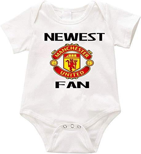 Huijiaoo USA Neuester Manchester United Fan Fan Strampler